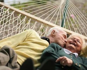 Loving Older Couple 2